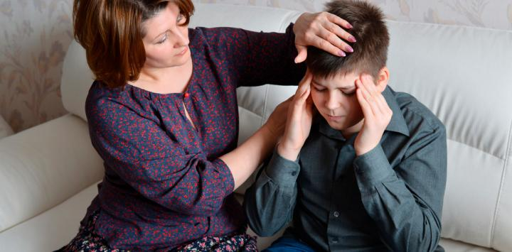 Treatment minimally invasive relieves migraine child in minutes