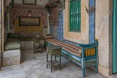 Dar Essid, intérieur bourgeois tunisien (XVIII-XIXe) (Pascale Jaquet & Olivier Noaillon) Tags: intérieur décoration stéréo maison sousse gouvernoratdesousse tunisie tn