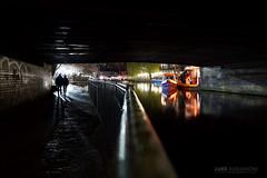 Camden Lock at Night (Luke Agbaimoni (last rounds)) Tags: camden camdentown london boat silhouette bridge reflection reflect night