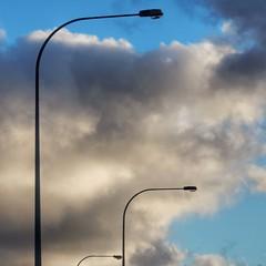 Streetlights (sander_sloots) Tags: streetlight perth lord street lamppost lampposts sylvania lighting sla australia streetlamp lantaarnpaal lantaarnpalen lampadaire publiclighting straatverlichting streetlights streetlamps strasenleuchte clouds