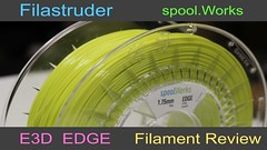 Filastruder - spool.Works E3D Edge - 3D Filament Review (davewirth.blogspot.com) Tags: filastruder spoolworks e3d edge 3d filament review httpdavewirthblogspotcom201703filastruderspoolworkse3dedgehtml httpswwwfilastrudercom a filastruders this truly is that combines best features from different printing materials all printed parts came out very clean strong httpsyoutubemixlstag9e8