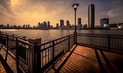 (Rob-Shanghai) Tags: shanghai china river huangpu leica m240 cv12mm wide sun shadows fence