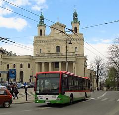 "Mercedes Conecto LF Euro 6, #9005, ""Warbus"" Warszawa dept Lublin (transport131) Tags: bus autobus ztm lublin mercedes conecto lf warbus"