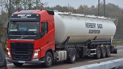 D - Herbert Sack Volvo FH GL04 (BonsaiTruck) Tags: kässbohrer herbert sack volvo lkw lastwagen lastzug silozug silo bulk citerne powdertank