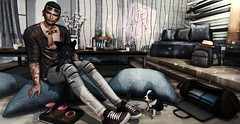 # 273 One of the best lessons you can learn is to master how to remain calm. (Nirevil) Tags: 220ml ascend bloom bolson david heather deadwool drot drunk panda poses epiphany kunst nivaro sayo shoetopia taketomi tmd zoom