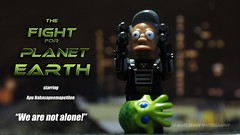 The Fight for Planet Earth (Mars Mann) Tags: apu toyphotography lego legophotography alien toysinaction legography poster postprocessing marsmannphotography macrophotography night alieninvasion olympusem1