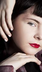 niamh 1 (siena2012) Tags: portraits portraiture fashion headshot editorial red lipstick canon closeup crop