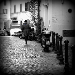 Can You See the Real Me? (Something Sighted) Tags: rome italy roma italia italie streetphotography scènederue mod blackandwhite noiretblanc trastevere fujifilmxt1 thewho