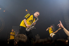 Amsterdam, The Netherlands  -16 April 2017: concert of Bosnian rock music band Dubioza Kolektiv at venue Melkweg -36 (CloudMineAmsterdam) Tags: dubiozakolektivmelkwegamsterdam amsterdam artists band concert concertlights crowd editorial electricguitar entertainment europe event gathering rock dub leisure lights loud music musician netherlands holland party people performance show singer vocals cheering audience happysmile fun hiphopreggae stage