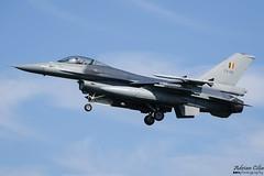 Belgium Air Force --- General Dynamics F-16AM Fighting Falcon --- FA-121 (Drinu C) Tags: adrianciliaphotography sony dsc rx10iii rx10 mk3 lwr ehlw plane aircraft aviation leeuwarden frisianflag military generaldynamics f16 f16am belgiumairforce fighting falcon fa121