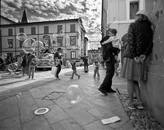 Cervia (stefanobiserni) Tags: mamiya7 43 cervia tmax400 biserni street bolle bambini romagna ravenna