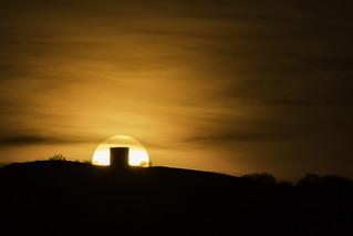Billinge Beacon Sunset