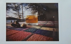 Cocktail Hour (ricko) Tags: cocktail glass peanuts photoofaphoto lomoinstant fujifilminstax mini roidweekspring 2017