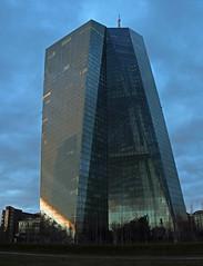 EZB. (universaldilletant) Tags: frankfurt ezb ecb europeancentralbank europäischezentralbank hochhaus skyscraper