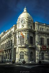Ayuntamiento de Ceuta engalanado para Semana Santa, rincones de Ceuta. (picscarpemi) Tags: ceuta comunidadespañola