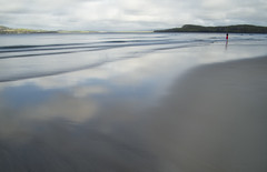 Isolation (annemcgr) Tags: donegal dunfanaghy ireland beach water reflections blur fineartphotography annemcgrath
