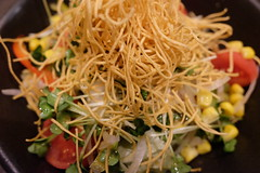 長崎・思案橋 皿うどんサラダ (HAMACHI!) Tags: kaihinmakuhari 2017 chiba japan food foodie macro fujifilm fujifilmx fujifilmx70 皿うどん salad vegetable