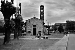 Santa Maria in Binda, Nosate (Va) (Massimo Caccia) Tags: biancoenero blackandwhite bianconero bw bnw monocromo monochrome