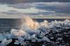 Jokulsarlon ice beach (rafpas82) Tags: ice beach black sea water acqua mare ghiaccio iceland islanda islandia sabbianera cielo nubi nuvole clouds onda flutti jokulsarlon nikond7000 nikon d7000 1770sigmacontemporary 1770sigma sigma1770 easter2017