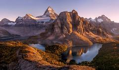 Mt Assiniboine by Tim Shields (Tim Shields BC) Tags: timshieldsphotography whiterock bc vancouver assiniboine pano sunburst