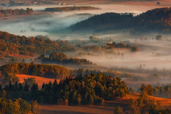 .... to Breathe the Air That You Need. (Bonnie And Clyde Creative Images) Tags: landscapes canon mist poland mountains morning sunrise