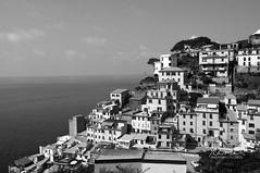 The Five Lands (andrewwebbcurtis) Tags: blackandwhite bw city urban travel wanderlust europe cinque terre 5terre cinqueterre italy italia mediterranean