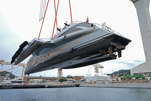 #GalaxyofHappiness handled by #MonacoMarine in #LaCiotatShipyards ©B.STANTINA