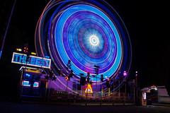 Circles of light (visova95) Tags: lights luci night varese schiranna lunapark italy