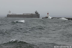 defash42617arrlgt_rb (rburdick27) Tags: tug barge ashtabula defiance upperharbor marquette wind waves lakesuperior breakwall