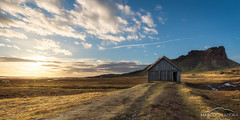 Lost in Iceland (Marco Calandra Photography) Tags: abandoned austurland cabin iceland panorama plain vestrahorn viking plains house lost alone marcocalandra islanda panoramicview
