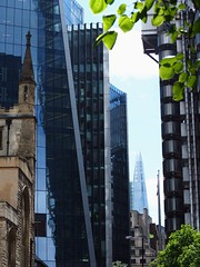 City of London (earleyleah) Tags: lloydsoflondon church london cityoflondon standrewundershaft shard