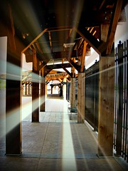 HOW YOU GET HERE TO THERE (Visual Images1) Tags: light 6ws walkway passage dubuque