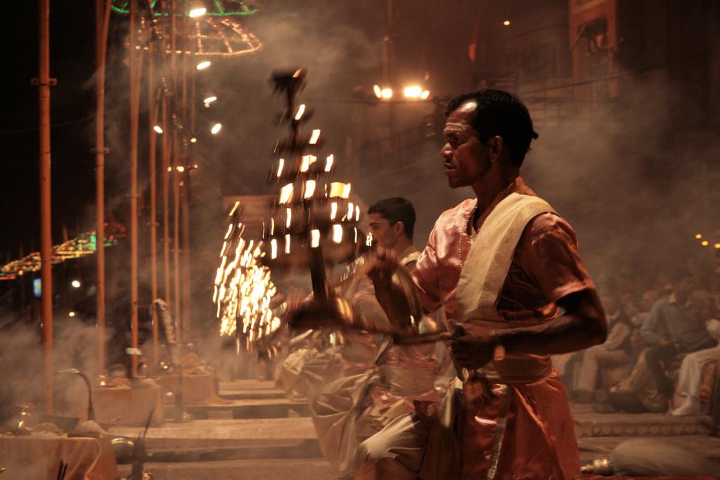 Devotions in Varanasi