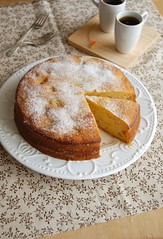 Apple polenta cake / Bolo de milho e ma (Patricia Scarpin) Tags: apple cake baking honey polenta cornmeal