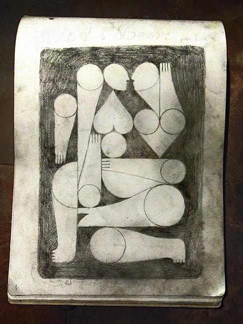 AMOR ASI. Sketch