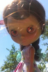 Sally Girl (Mixi Michi) Tags: prototype kenner blythe 1972 faceplates
