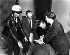 CPR training, circa 1960 (King County, WA) Tags: 1960s cprtraining publichealth policeofficer kingcountyarchives