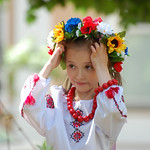 "Young girl and circlet of flowers<a href=""http://www.flickr.com/photos/28211982@N07/8953183788/"" target=""_blank"">View on Flickr</a>"