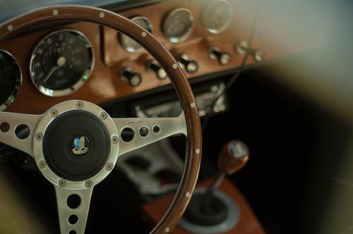 Triumph Herald 1200 interior