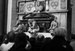 Tomb of Michelangelo (Bradley N. Weber) Tags: santa michelangelo croce tombofmichelangelo michelangelostomb michelangelosremains michelangelosantacroce michelangeloadmirers