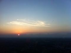 Sunset atop the CN Tower (Alrec) Tags: city sunset toronto ontario canada tower cntower