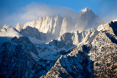 Whitney cool (DM Weber) Tags: california winter snow mountains clouds canon landscape mt sierra whitney nevadas alabamahills eos5dmk2 psa148 dmweber