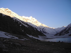 Saif ul Maluk Lake (Sayed Abdullah Hussain) Tags: sunset mountain lake golden evening shine peak saifulmaluk saifulmalook