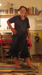 Wet denim and black knit 001. (Jack Williams) Tags: newzealand men wet fun freestyle frolic dress auckland dresses nz wetlook meninfrocks frocks frolics menindresses mandress menstuff wetguy