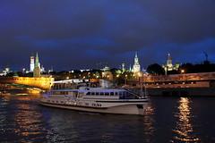 Moscou, soirée d'été (moscouvite) Tags: cathédrale pont nuit kremlin russie lete moscou sonydslra450 heleneantonuk