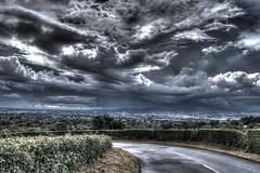 Shower (40136) (jonathanclark) Tags: city summer clouds shower belfast hdr