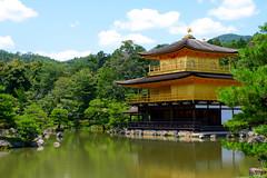 Kinkaku-ji (Golden Pavilion) (sleepyhead's) Tags: japan temple kyoto 日本 nippon 金閣寺 kinkakuji nihon kinkaku goldenpavilion rokuonji 京都市 日本国 deergardentemple 金閣 kyōtoshi templeofthegoldenpavilion shariden