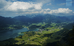 Strobl am Wolfgangsee (desomnis) Tags: summer sky sun mountains beautiful clouds landscape austria sterreich view hiking skyandclouds obersterreich beautifulview strobl salzkammergut upperaustria stroblamwolfgangsee desomnis