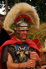 Roman centurion (larry_antwerp) Tags: belgium antwerp reenactment romans lillo romeinen
