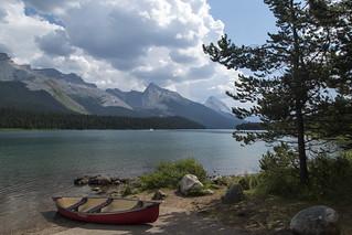 Maligne Lake in Summer
